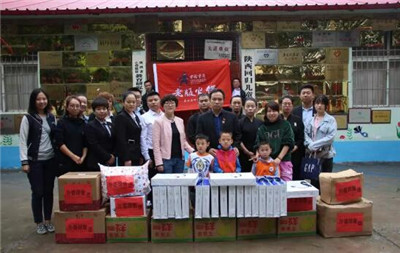 中秋节探访儿童救治中心(图2)